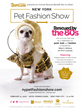 NY Pet Fashion Show presented by TropiClean, Rescued by the 80's