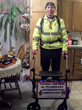 Pulmonary Hypertension Association Asks the Public to Support 80-Year-Old Pacing Parson as He Reaches 500-Mile Marker in Fight Against Deadly Disease