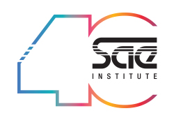 SAE Institute 40th Logo