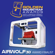 The AXIOM 3D Printer Has Been Named A Design News Golden Mousetrap Awards Finalist