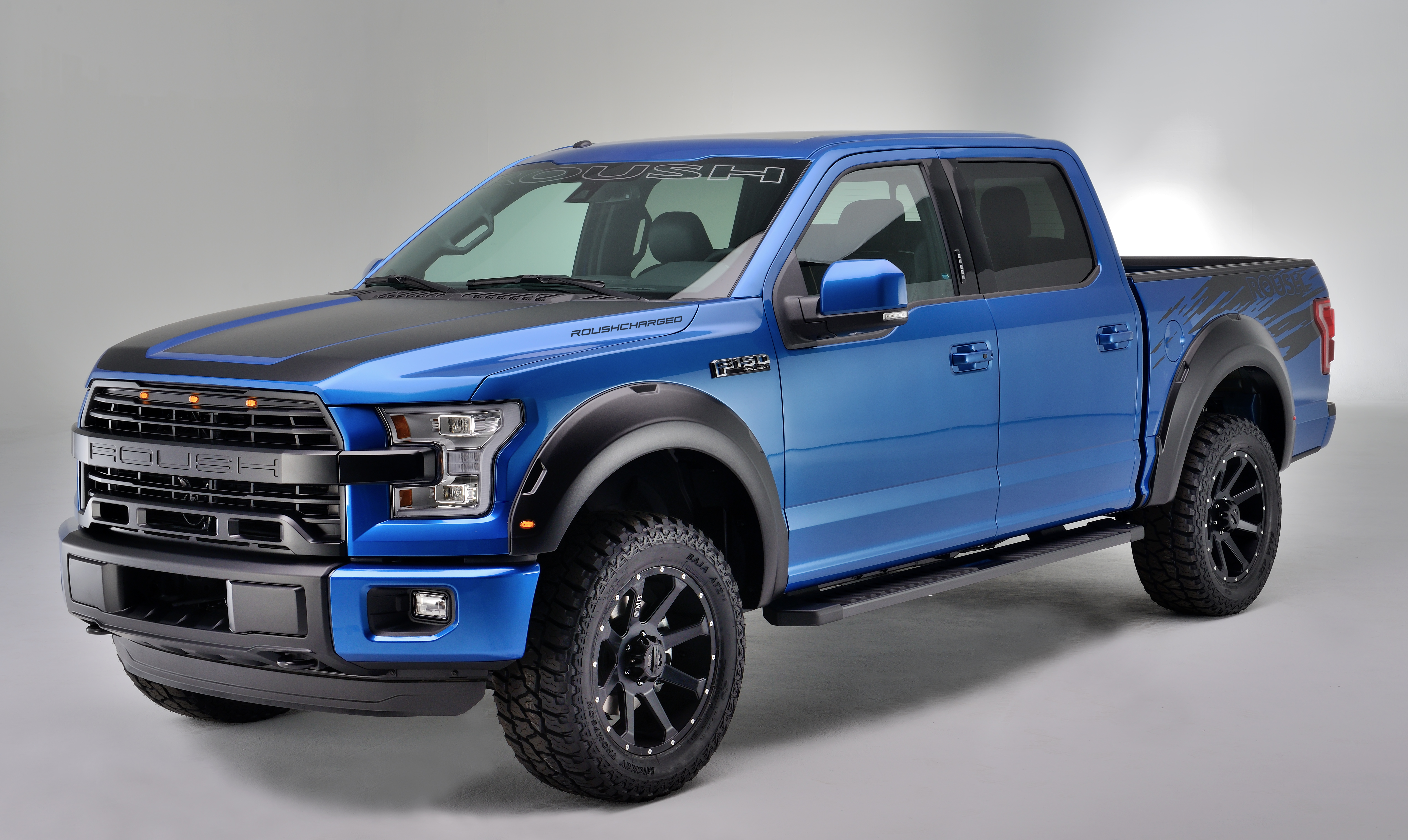 new 2016 roush f 150 with supercharger creates next evolution in high performance truck technology. Black Bedroom Furniture Sets. Home Design Ideas