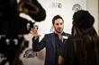 Aaron Wolf Interviewed on the Red Carpet at the Skirball Cultural Center event