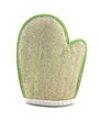 Natural Loofah Sponge glove for skin scrub and slin exfoliation