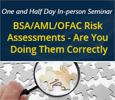 BSA-AML-OFAC Risk Assessments