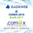 Radixweb to Showcase its Technology Competencies in-line with Industry Trends at COMEX OMAN 2016