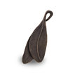 Two brass leaves are beautifully hand created and designed to store a small amount of cremated ashes.