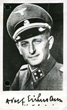 Adolf Eichmann in Nazi uniform, 1940s (Credit: Yad Vashem)
