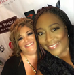 Debra Aruffo with Celebrity Host, Loni Love