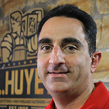 Dave Audia, G.L. Huyett's new Corporate Business Development Director