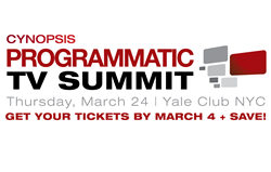 Cynopsis Announces Programmatic TV Summit on March 24 in New York City