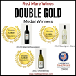 Red Mare Wines wins 3 Double Golds from American Fine Wine Competition 2016