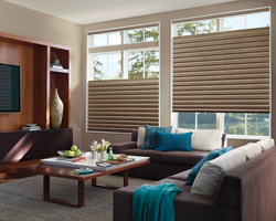Custom Decorators, Inc. sells the complete line of Hunter Douglas products.