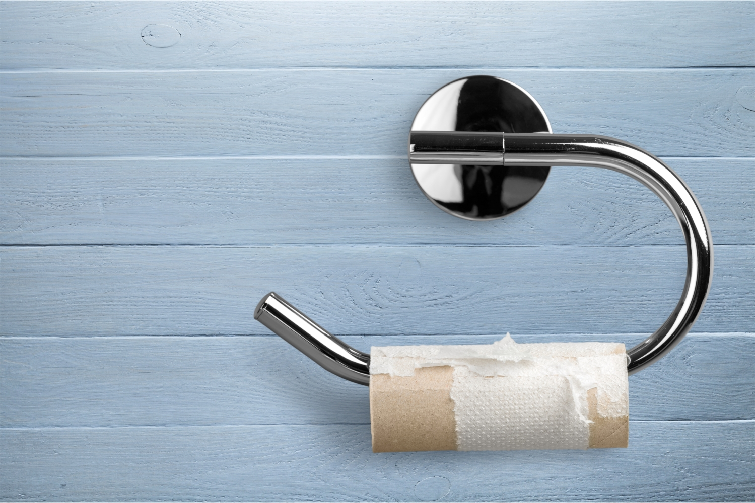 Here An Efficient Way To Use Each Roll Of Toilet Paper