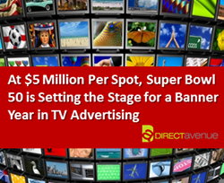 The $5 Million Super Bowl Ad Sets the Stage for a Banner Year in TV Advertising