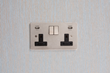 double socket with USB, Focus SB Horizon USB, usb sockets