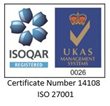 Exclaimer Receives ISO 27001:2013 Certification