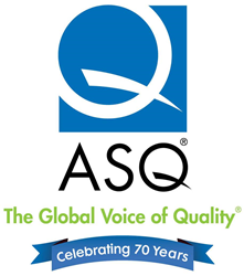 ASQ is celebrating 70 years in 2016.