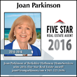 Five Star Professional Recognizes Joan Parkinson of Berkshire Hathaway HomeServices as a 2016 Five Star Real Estate Agent Award Winner