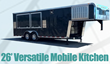 California Mobile Kitchens Announces New, Better Mobile Kitchen