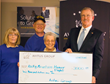 President of Avitus Payroll Services & Avitus Business Services, Ken Balster, presents check to Rocky Mountain Honor Flight