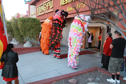 Chinese New Year in Las Vegas Lion Dance