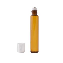 Amber Glass Roll-on Bottles