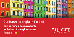 FL Tax will now provide tax services to the clients of Alliott Group member firms in Warsaw, Poland