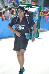 Steven Tonkinson in Miami Marathon