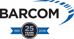 Barcom 25 Years Strong