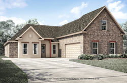 New home to be built by Level Homes in Ascension Parish, LA