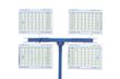 Four 500 Watt High Intensity LED Lights