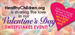 American Academy of Pediatrics' HealthyChildren.org Celebrates Valentine's Day with Weeklong Sweepstakes Event