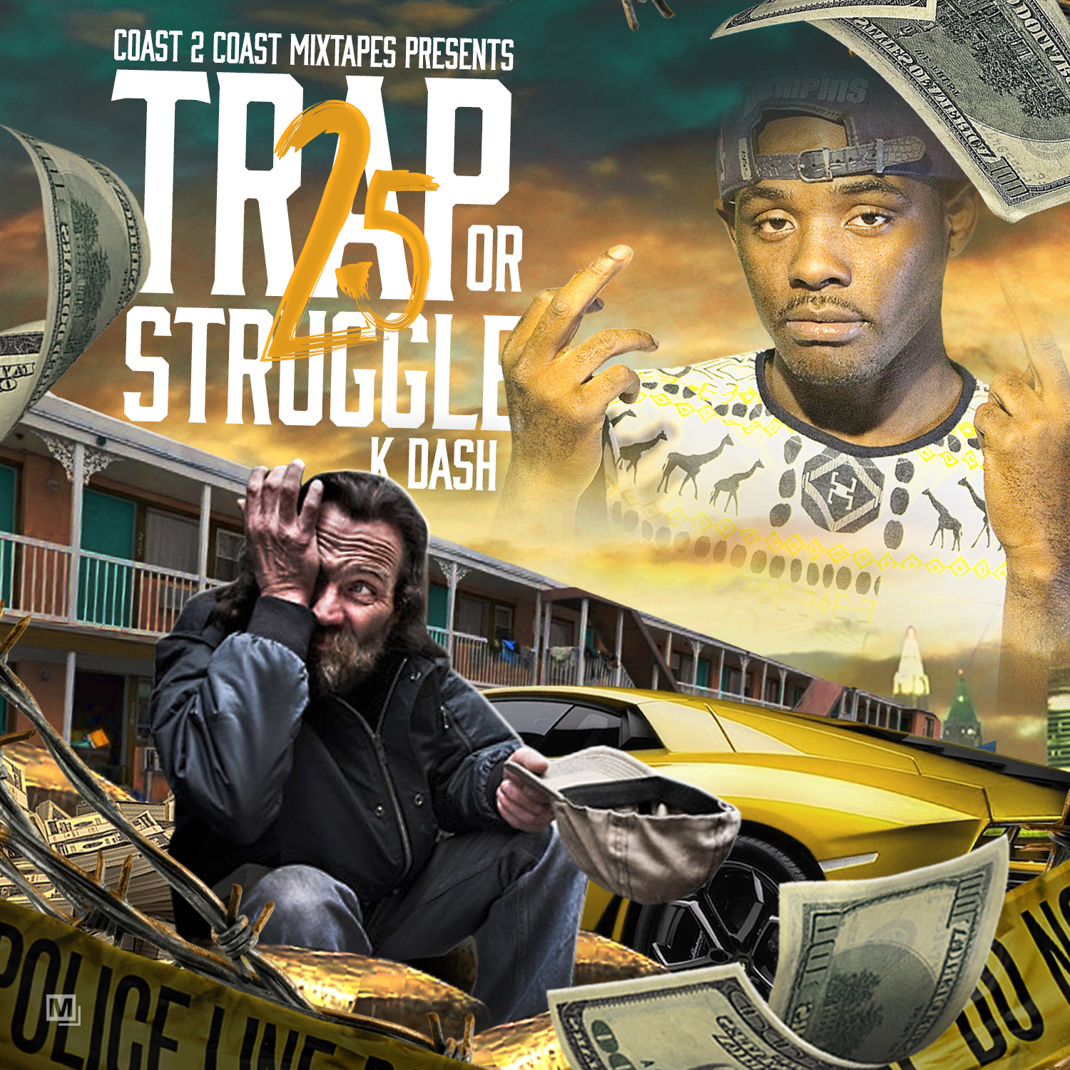 chicago recording artist k dash releases new mixtape trap or