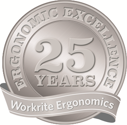 Workrite Ergonomics. Celebrating 25 years.
