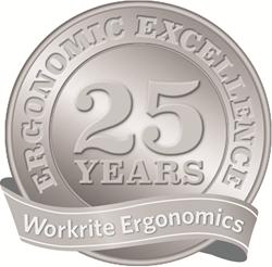 Workrite Ergonomics. Celebrating 25 years.