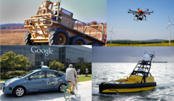 Unmanned Systems: Air, Ground, Maritime