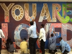 An Alex Cook student mural project