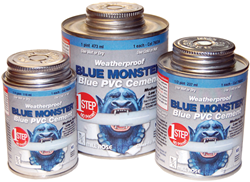 New Blue Monster 1-Step PVC Cement
