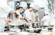 Le Cordon Bleu Ottawa Students in Kitchen