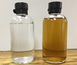 ApoWave processed liquor before and after only 15 minutes