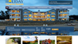 Holiday VVacation Rentalsl Mobile Friendly Website Homepage