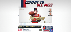 OleMissSports.com had 30,000 unique visitors on National Signing Day.