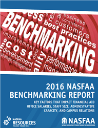 NASFAA 2016 Benchmarking Report