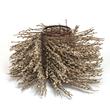 Large Pussy willow Baslet by Finnish basketmaker Markku Kosonen