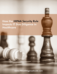 IT Due Diligence in Healthcare White Paper