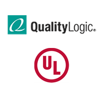 QualityLogic and UL logos