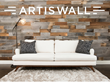 Artis Wall, a Simple and Fast Way to Transform Accent Walls and Living Spaces with Removable, Authentic, Reclaimed Wood Planks, Launches a Kickstarter Campaign