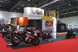Quadrant2Design design and build stand for Reactive Parts, who are attending The Carole Nash MCN Motorcycle Show 2016