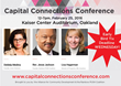 Alliance For Community Development's 8th Annual Capital Connections Conference February 25, 2016