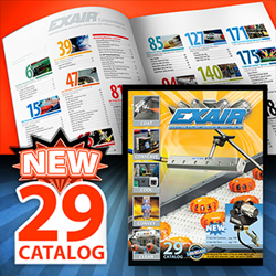 EXAIR's New Catalog 29